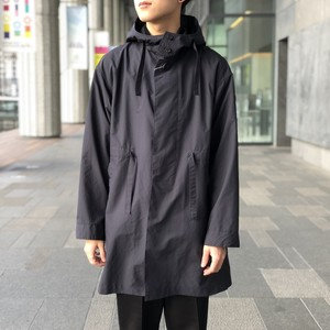 【UNIVERSAL PRODUCTS】NYLON HOODED COAT
