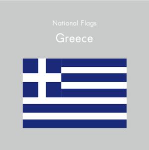 国旗ステッカー ギリシャ