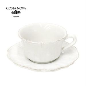 【COSTA NOVA】ティーカップ&ソーサー[SCS01]