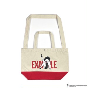 EXAMPLE x BETTY BOOP 2WAY BAG / WHITE x RED