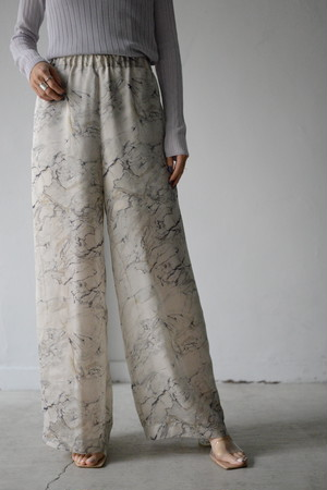ROOM211 / Satin Organza Relax PT (marble)