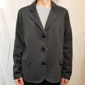 Knit jacket /Made In Italy [G-375]