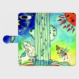iPhone6plus,6splus,  7Plus 手帳型スマホケース【チキータ姫の貢物シリーズ】