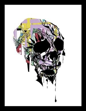 Skull【Duplication】A4