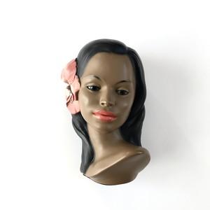 50's Marwal Hula Girl Bust  / フラヘッド 002