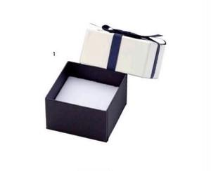 アクセサリー紙箱 リボン付きフェザーケース 12個入り 7340-REP
