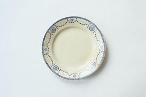 リュネビル ブルーガーランドの丸皿