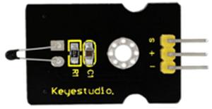 温度センサーモジュール(Keyestudio製)