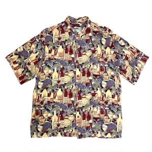 レインスプーナー / USEDアロハシャツ / size M