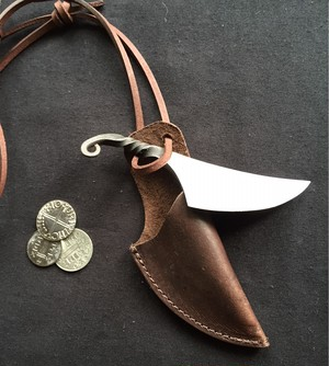 アングロ・サクソン&ヴァイキング様式の小刀(ナイフ)