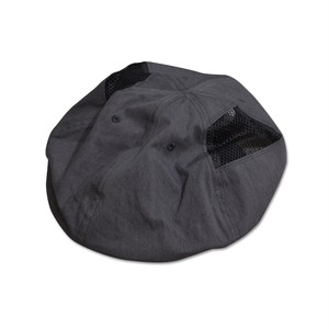 NOROLL / 6PANNEL SIDEMESH CASQUETTE -BLACK-
