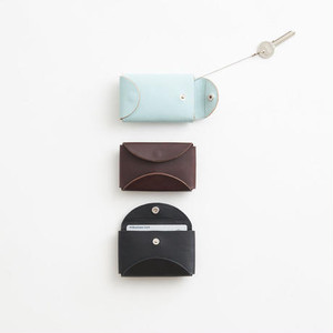 i ro se FOLD KEY WALLET (BLACK / BROWN / PALE BLUE)