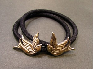 "Hair Elastic ""Swallows"""