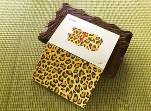 豹柄の招き猫 (栞付)