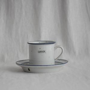 Blue Mist Niels Refsgaard Dansk Designs Flat Cup & Saucer Set