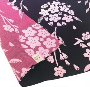 京の両面おもてなし両面小ふろしき 桜 白群 KRK-05B