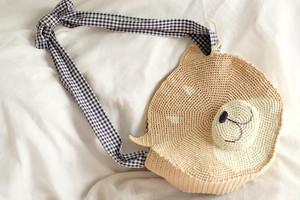 柴犬サークルバッグ(かぎ針編み犬型サークルバッグ)