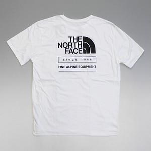 【メール便対応】THE NORTH FACE ノースフェイス ハーフドームロゴ バックプリント Tシャツ ホワイト