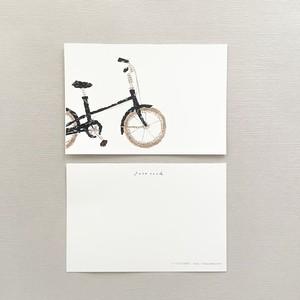ポストカード|いつもの自転車