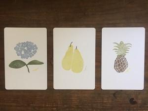 ポストカード 三枚組