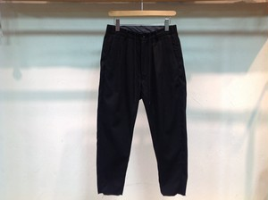 """40%OFFbukht """"2TUCK EASY TROUSERS BLACK"""""""