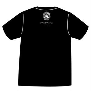 ドットファイターズ 「チーム」 Tシャツ ブラック