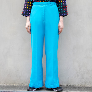 70's Flare Pants (Turquoise)