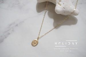 Maria coin Necklace ▶14kgf