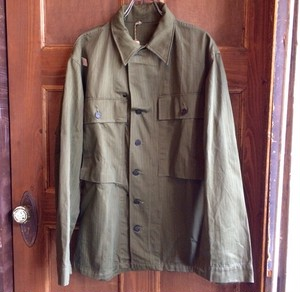 DEADSTOCK 1940s USARMY HBT Shirts