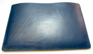 MacBookProケース 13インチ  本革ヌメ ダークブルー(濃紺) [MBP13RT-DBLUE]