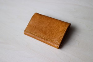 PLAY WALLET - LEATHER[YELLOW]