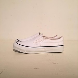 ASAHI DECK SLIP-ON WHITE / M013 L010