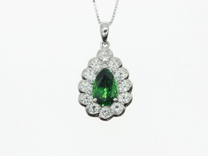 【PT900】KR1.119cts D0.70ct UP ダイヤモンドネックレス