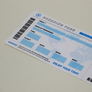 搭乗券ステッカー「国際線エコノミークラス」