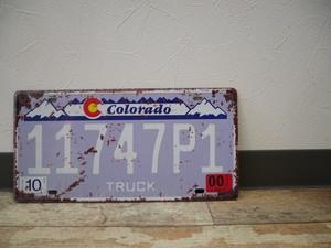 USAナンバープレート(Colorado)