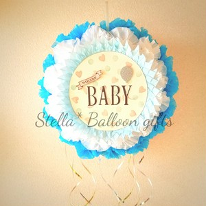 【Stella* style】Welcome baby piñata (blue)