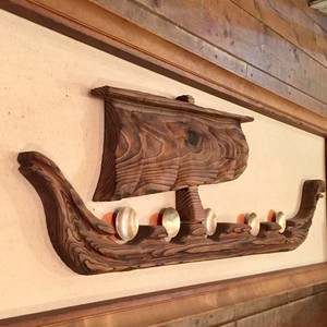 """Witco """"Outrigger"""" Wallhanging"""