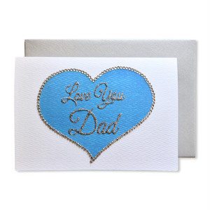 """""""LOVE YOU DAD"""" GREETING CARD[M]"""