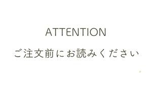 ご購入前に必ずご一読ください ☆2018/6/8  追記編集あり