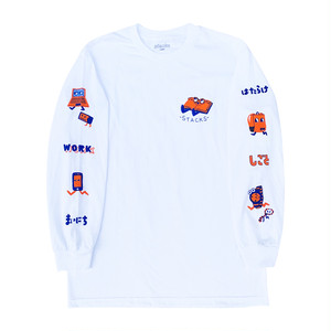 "stacks LURK ""WORK"" L/S TEE"