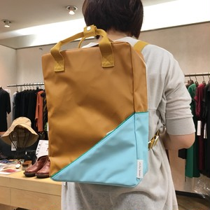 sticky lemon スティッキーレモン BACKPACK DIAGONAL LARGE CARAMEL FUDGE