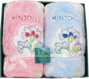 ミントンマイヤー毛布2枚セット MNPE11022