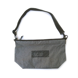 scar /////// BLACKBOX SHOULDER BAG (Charcoal)