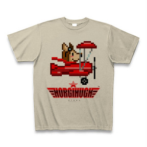 HORGIHUGH(ホーギーヒュー)Tシャツ「ヒュー」ドット絵バージョン
