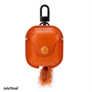 InfoThink AirPods ケース Disney ライオン・キング エアポット ケース シンバ iAPC-100(Simba)