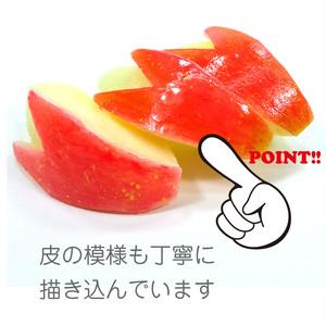 うさぎ りんご 食品サンプル キーホルダー ストラップ マグネット