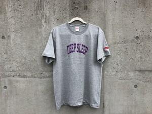 """【受注生産】CollegeロゴTシャツ """"DEEP SLEEP"""" 【熟睡】"""