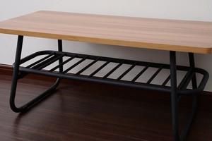 Factory Black Low Table / インダストリアルスタイル ファクトリーブラック ローテーブル