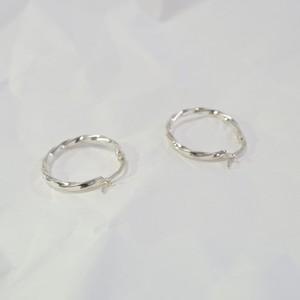 silver925   Hoop pierce  [送料無料]
