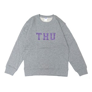 THURSDAY - THU CREW NECK SWEAT (Grey)